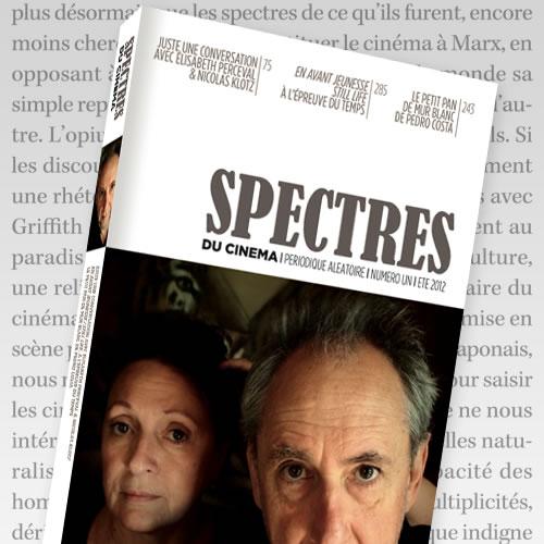 """Où trouver la revue """"Spectres du cinéma""""? SP1"""